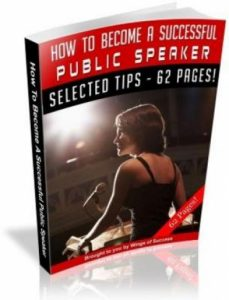 How To Become A Successful Public Speaker