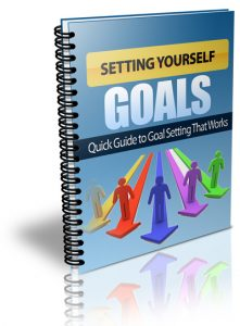 Setting Yourself Goals