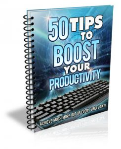 Y-50 Tips to Boost Your Productivity